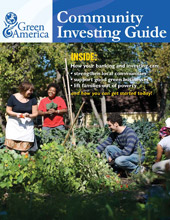 Green America's Community Investing Guide