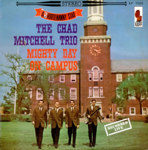 Chad+Mitchell+-+Mighty+Day+On+Campus+-+Red+Vinyl+Test+Pressing+-+LP+RECORD-506671
