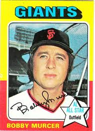 Bobby Murcer, thrilled to be out of Shea Stadium and playing in that other noted hitter's paradise, San Francisco's Candlestick Park.