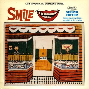 "The ""new improved"" 1985 version of the Beach Boys' Smile bootleg, with liner notes by ""Nancy Reagan."""