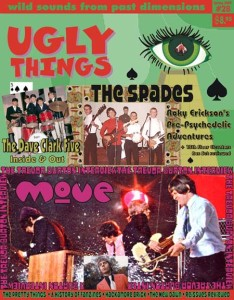 The spring 2009 issue of Ugly Things (#28, and still available; link to its website by clicking on this caption) features interviews with DC5 lead guitarist Len Davidson, engineer/producer Adrian Kerridge, and Dave Clark himself .