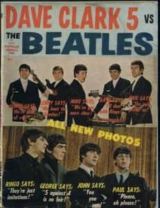 "Another ""Dave Clark 5 vs. the Beatles"" fanzine. Guess who won?"