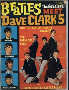 Believe it or not, for about six months or so in 1964, the Dave Clark Five were the most popular British Invasion band besides the Beatles.