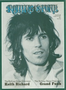 Robert Greenfield's massive 1971 interview with Keith Richards in his French villa was a cover story for Rolling Stone.
