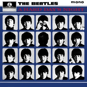 The UK version of A Hard Day's Night, with 14 Lennon-McCartney songs.
