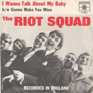 Ron Ryan was singer in the Riot Squad, whose drummer was a young Mitch Mitchell (center); Ryan is on Mitchell's left.