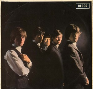 The Rolling Stones' first UK album did not contain their name or the LP title.