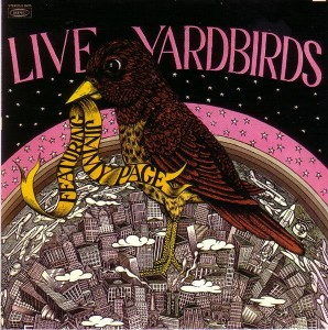 "The Yardbirds never would come back to the US to tour under the billing ""featuring Jimmy Page."" But oddly enough, this live LP of a March 1968 concert in New York was issued with the ""featuring Jimmy Page"" billing in 1971. It was quickly withdrawn from the market, though it's since been frequently bootlegged."