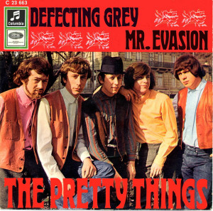 A pioneering psychedelic single by the Pretty Things, even if it pictures a previous lineup than the one that recorded these tracks.