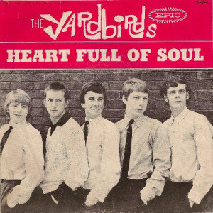 "Epic was about to push the ""Heart Full of Soul"" single when it issued their 1965 Yardbirds press release, perhaps not realizing that the US picture sleeve pictured the Eric Clapton lineup, not the Jeff Beck one that played on the tracks."