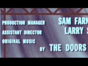 The Doors were indeed credited for the music they provided for a 1966 training film for Ford employees.