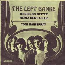 A bootleg seven-inch with three Left Banke commercials.