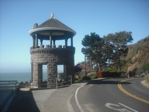 Lyford's Stone Tower, built in 1889, on Paradise Drive just a few hundred yards or so past downtown Tiburon.