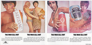 The cover of The Who Sell Out was as famous as the record itself.