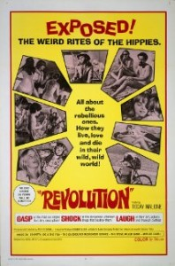 Poster for the 1968 Revolution film.