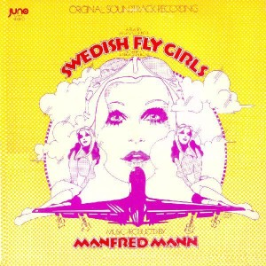 "The ""Swedish Fly Girls"" soundtrack LP."