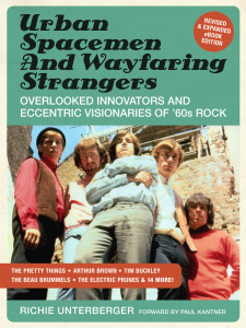 documents twenty cult rockers from the 1960s. The book features extremely detailed investigation of the careers of greats like the Pretty Things, Arthur Brown, Richard & Mimi Farina, and Tim Buckley. The extensive chapters all include first-hand interview material with the artists themselves and/or their close associates. The ebook version is significantly expanded, revised, and updated from the print version, adding 20,000 words of new material.