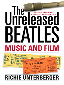 Critical description of all known unreleased Beatles recordings, their most crucial unissued film footage, and more. Updated with 30,000 more words to reflect newly circulating material and additional information that's come to light since the original edition. Click here or on the cover image above to order through Amazon.
