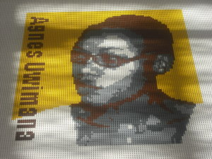 "LEGO of Agnes Uwimana Nkusi of Rwanda, a newspaper editor ""convicted of defamation and threatening national security."""