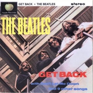 "The Beatles got as far as taking a picture in early 1969 for a projected ""Get Back"" album, whose cover (subtly re-creating/satirizing the photo and cover designed used for their first LP, ""Please Please Me,"" in 1963)  probably would have looked something like this."