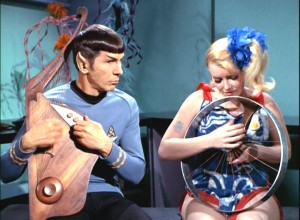"Spock jams with space hippie on ""The Way to Eden"""