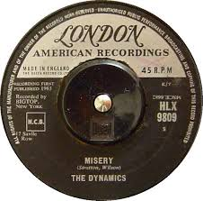"""Misery"" was also issued in the UK, and also on the London American label."