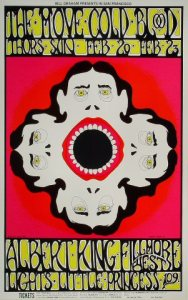 The poster for the Move's 1969 shows at the Fillmore did not boast especially memorable artwork.