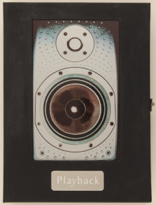 The cover for George Martin's Playback—proof that expensive books don't necessarily look all that appetizing.
