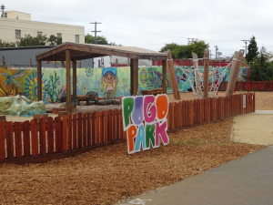 Local color: murals and more in Richmond's Pogo Park.