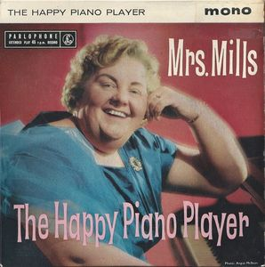 Mrs. Mills, one of the British artists who was issued on Capitol Records at a time when the Beatles' early British hits were being rejected by the label for American release.