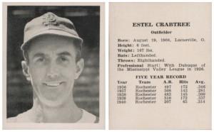 Estel Crabtree.