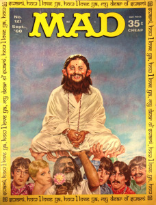 Mad magazine satire of the Beatles-Maharishi fling.