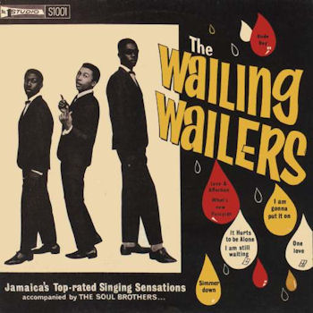 The Wailers' first LP, mid-1960s.