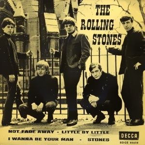 "Note that ""Stoned,"" the B-side of the Rolling Stones' second single, is misspelled ""Stones"" on this EP."