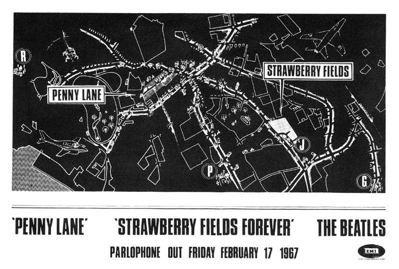 Penny_Lane_Strawberry_Fields_Forever_advertise