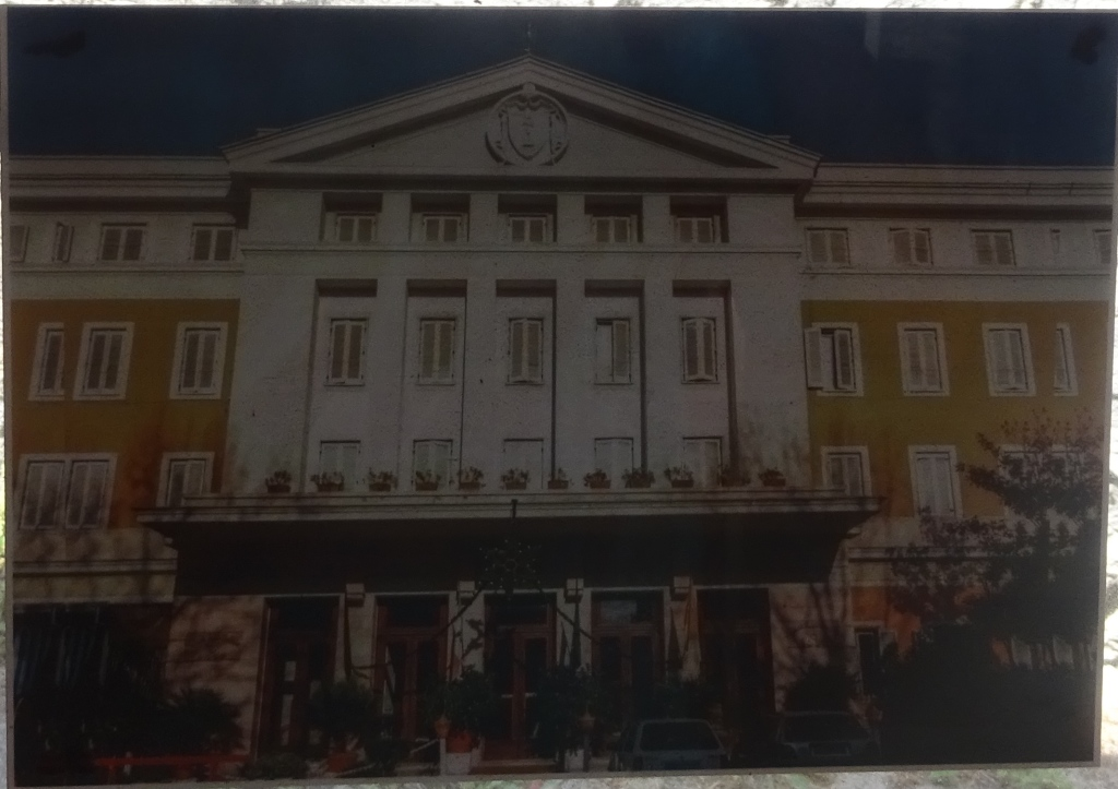 The Gran Rosario hotel, as it appeared when Pink Floyd and film crew stayed there in 1971.