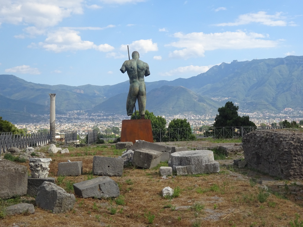 Elsewhere in Pompeii, taken the day of my visit.
