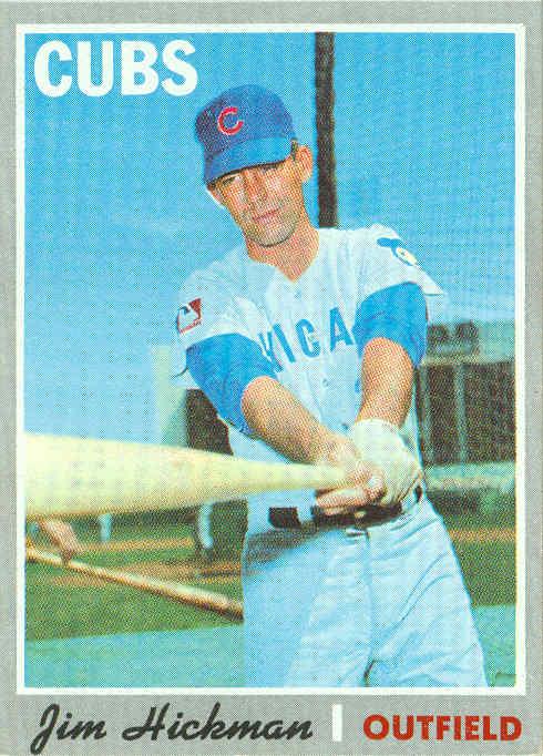 1970 Jim Hickman (f)