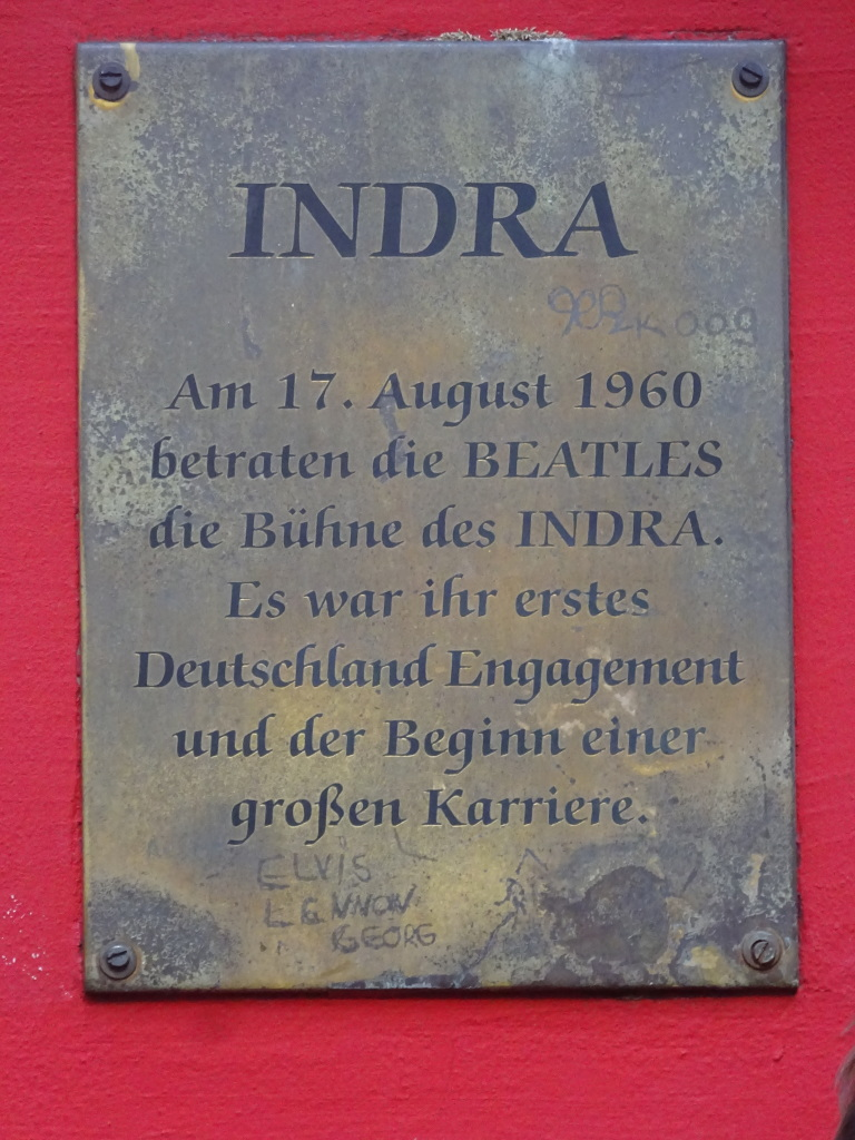 Translation of Indra club plaque: