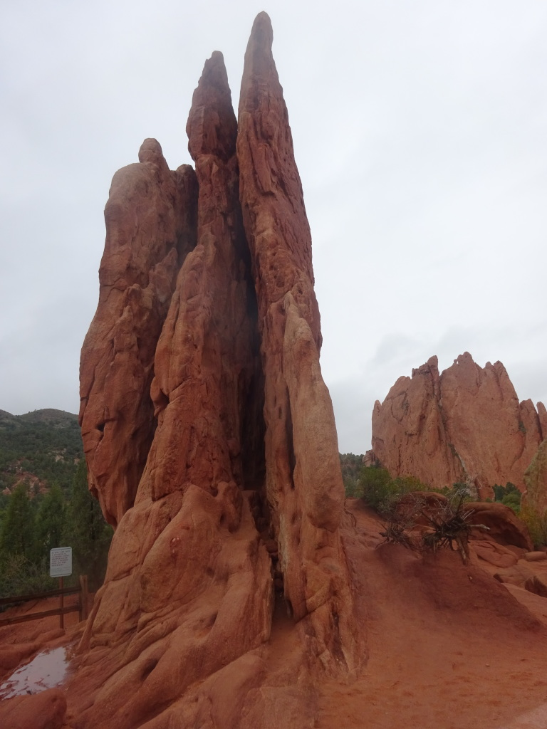 The Garden of the Gods, near Colorado Springs.