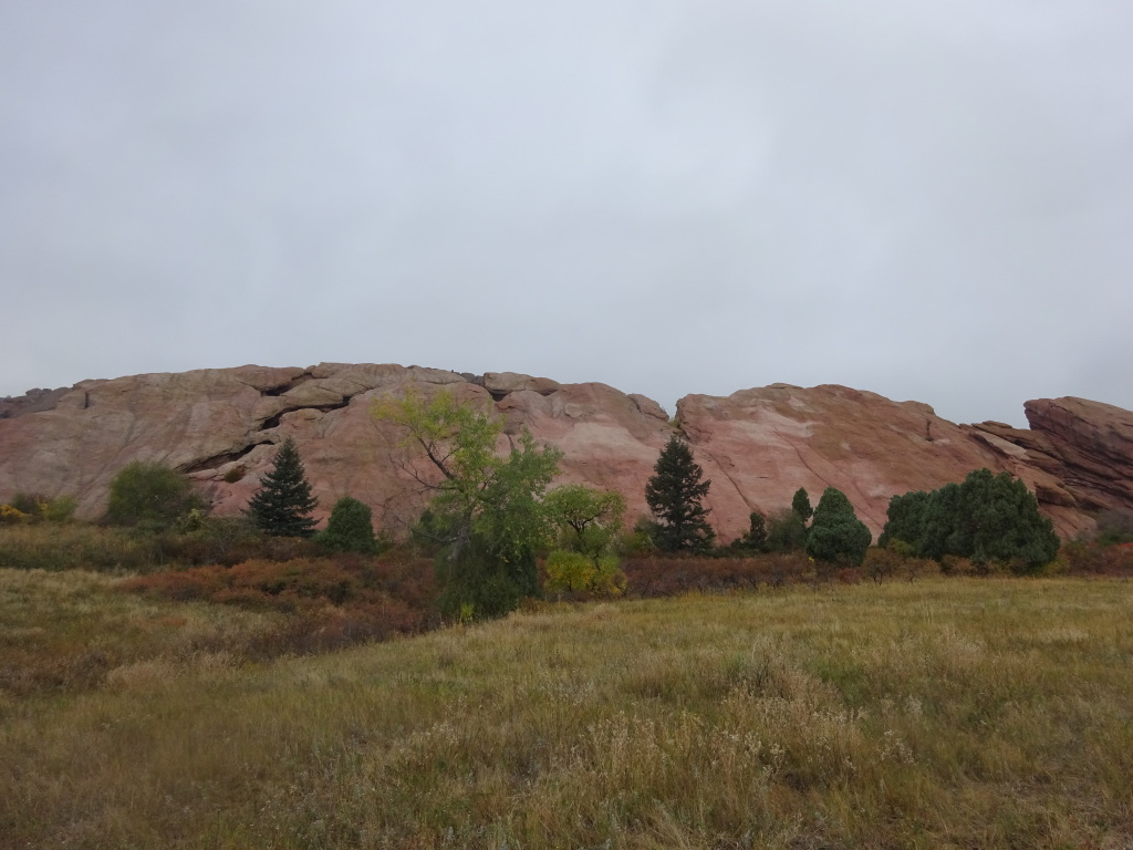 Red Rocks, near the visitor center and Colorado Music Hall of Fame.